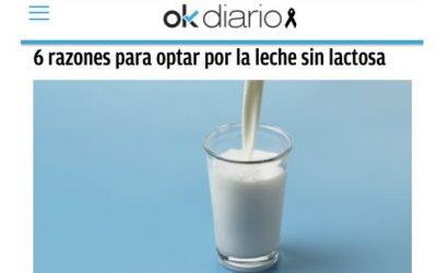 6 razones para optar por la leche sin lactosa