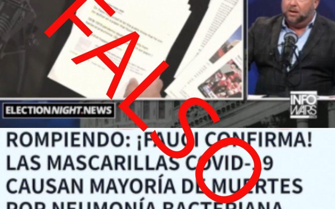 Desmontamos los bulos sobre la publicación viral de Anthony Fauci
