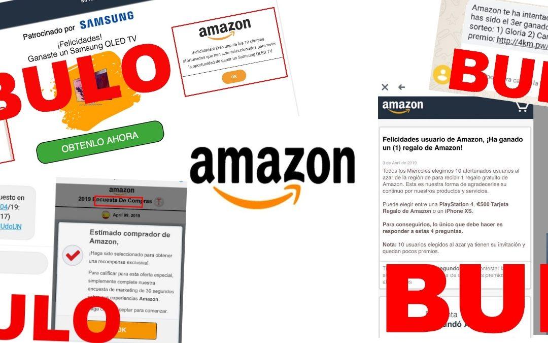 Desinformación de la empresa Amazon: campañas de phishing