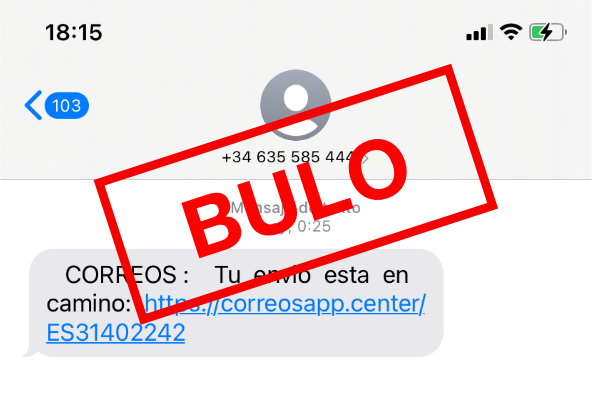 SMS de Correos y el robo de datos